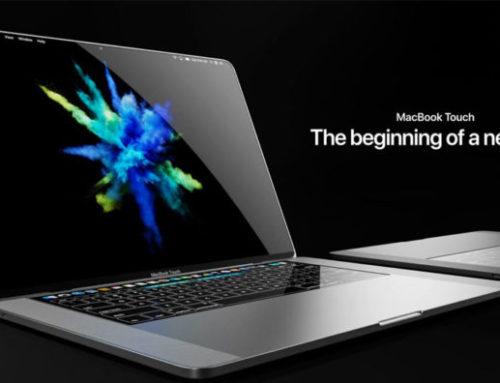 ชมภาพแนวคิด MacBook Touch จอ OLED สองตัว, คีย์บอร์ด 3D Touch