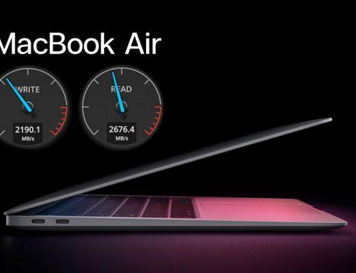 MacBook Air รุ่นชิป M1 มี SSD เร็วกว่ารุ่นเดิม 2 เท่า